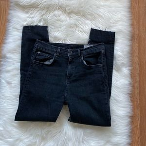 """rag & bone 10"""" high rise Skinny Jeans Size 29"""